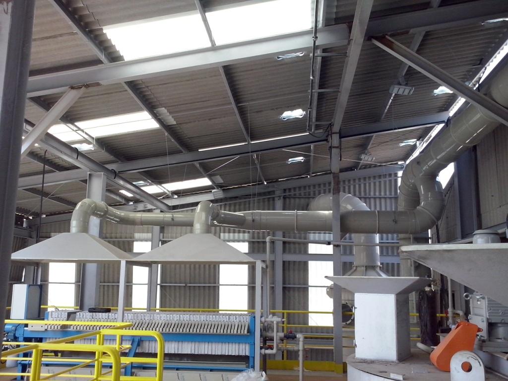 Sistema De Ventila O Industrial Ecoplas